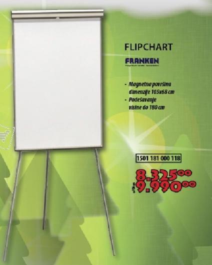 Tabla za pisanje - Flipchart