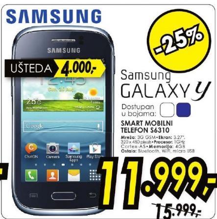 Mobilni telefon Galaxy Y S6310