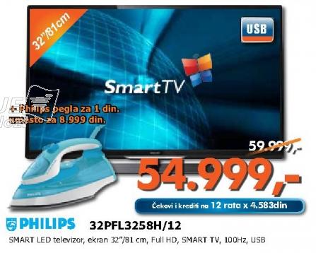 LED Televizor 32PFL3258H/12
