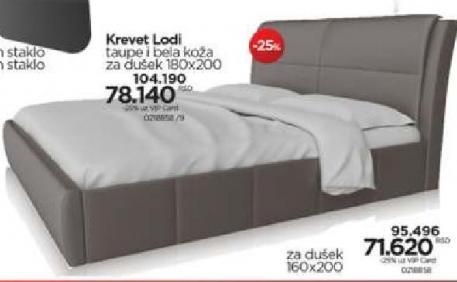 Krevet Lodi