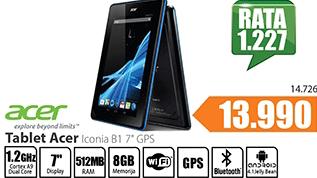 """Tablet Iconia B1 7"""" GPS"""