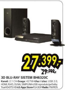 3D Blu-ray sistem BH6320C