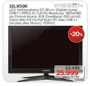 """Televizor LED 32"""" 32LX500"""