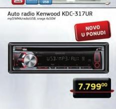 Auto radio KDC317