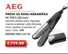 Presa za kosu-keramička HC 5593 LED
