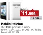 Mobilni telefon E400 Optimus 3