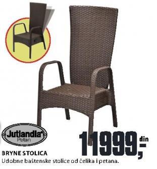 Baštenska stolica Bryne Jutlandia