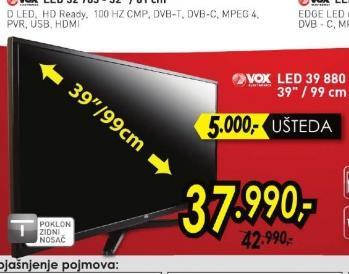 Televizor LED 39 880