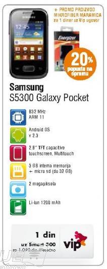 Mobilni telefon S5300 Galaxy Pocket