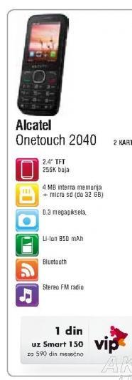 Mobilni telefon  2040D