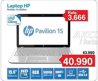 Laptop Pavilion 15-n030sm