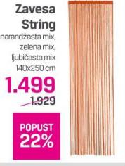 Zavesa String