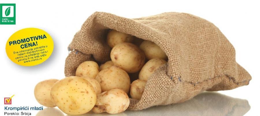 Promotivna cena mladih krompirića