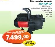 Baštenska pumpa GB600sp, Gardens  best