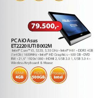 Desktop racunar  AiO ASUS ET2220 IUTI B002M
