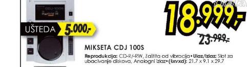 Mikseta CDJ 100S
