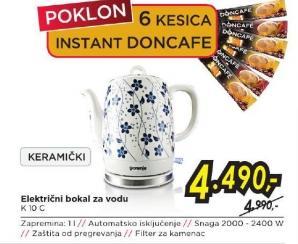 Električni Bokal K 10C