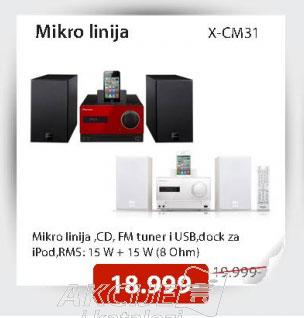 Mikro linija X-CM31-R