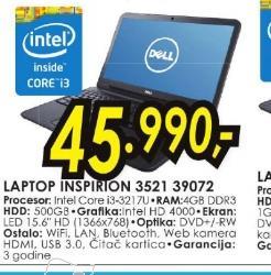 Laptop 3521 39072