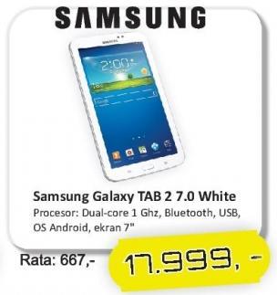 Tablet Galaxy Tab 2 7.0 White