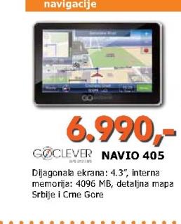 NAVIO 405 navigacija