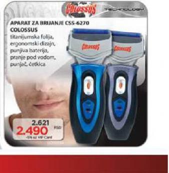 Aparat za brijanje CSS 6270