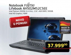 Notebook Lifebook AH502M52C5EE