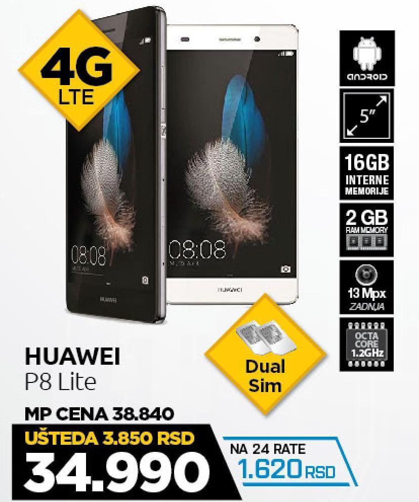 Telefon mobilni Ascend P8 Lite
