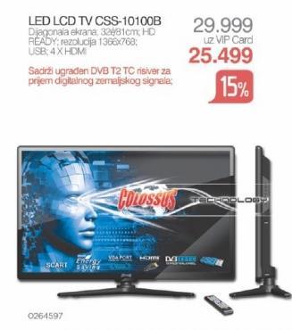 """Televizor LED 32"""" Css-10100b"""