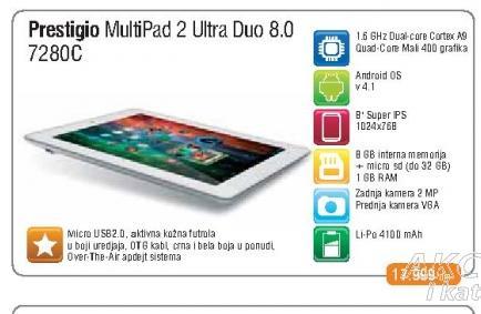 Tablet Multipad 7280C Duo