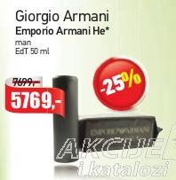 Toaletna voda Emporio Armani He