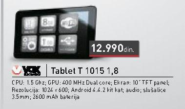 Tablet T1015 1.8
