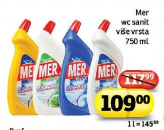 Sredstvo za čiscenje sanitarija