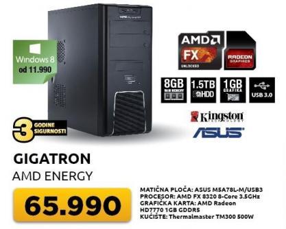 Desktop računar AMD Energy