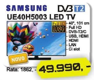 "Televizor LED 40"" Ue40h5003"