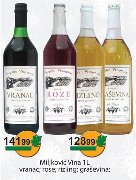 Belo vino Graševina