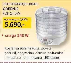 Dehidrator Fdk 24 Dw