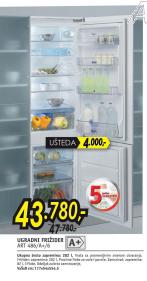 Ugradni frižider ART 486
