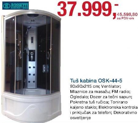 Tuš kabina Osk-44-5 Rossetti