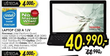 Laptop Satellite C50 A 1jv