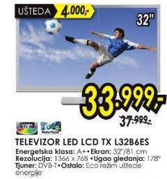 "Televizor LED 32"" Tx L32b6es"