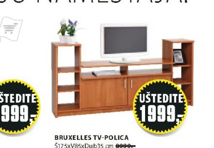 TV polica Bruxelles