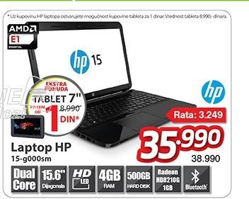 """Laptop 15-g000sm 15.6"""""""