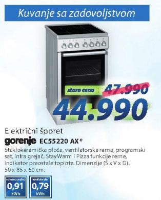 Šporet EC55220AX