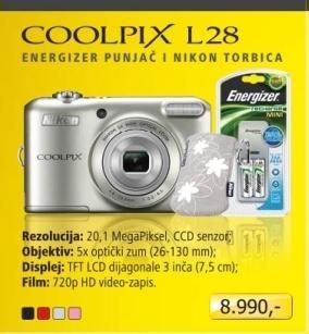 Fotraparat digitalni COOLPIX S3200