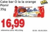 Cake bar orange