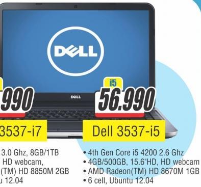Laptop 3537 i5