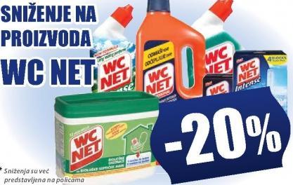 Sniženje na WC Net proizvode
