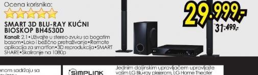 Blu-ray sistem BH-4530D