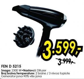 Fen za kosu D 5215